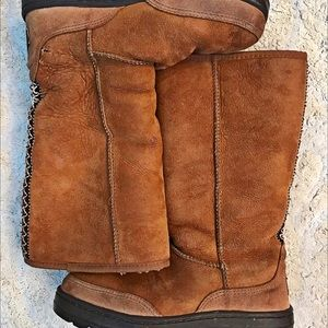 Gorgeous woven UGG boots